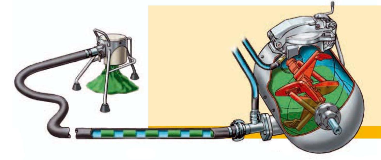 Mixokret, M500, Putzmeister, Transportadora Via Seca, Máquinas, Transporte de Betonilha, Máquinas betonilha, para a construção, Transportadoras, Argamassas