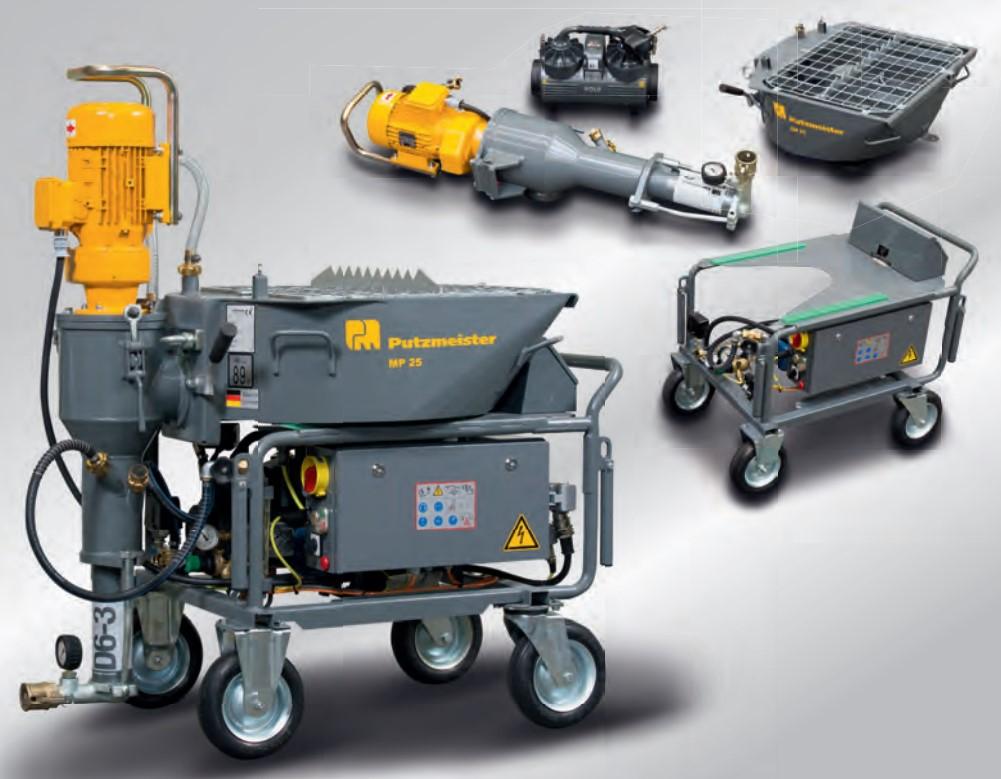 Putzmeister, MP25, Gesso, maquinas de reboco, Máquinas de projetar, Preços, projeção, Putzmeister MP25, Maquinas de Rebocar, Máquinas de Reboco, construção